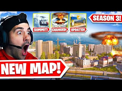 Warzone Has A COMPLETELY NEW MAP! 🤯 (INSANE LIVE EVENT)