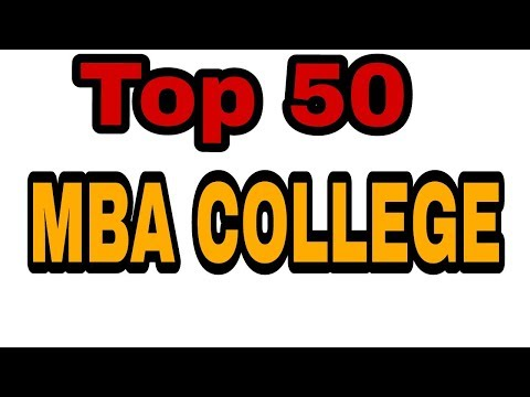 Top 50 Mba college in india