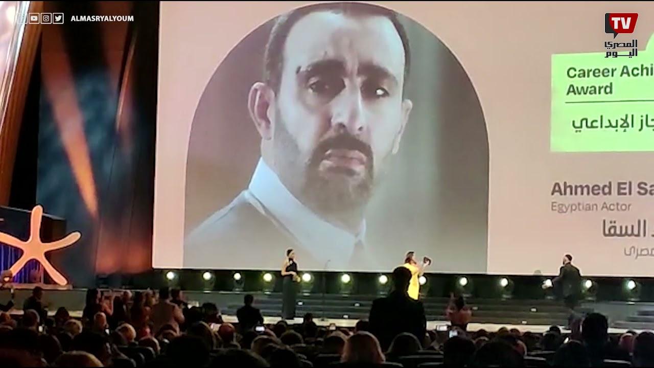 مهرجان الجونة السينمائي يكرم أحمد السقا  - 12:54-2021 / 10 / 15