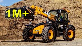 JCB 3CX AT WORK 2 dumper 4cx komatsu cat blade loader tractor koparka digger dumper roller truck