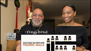 7 Editions de Parfums Frederic Malle Fragrances With Tiff Benson