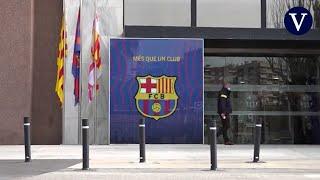 Los Mossos registran las oficinas del Camp Nou por el Barçagate