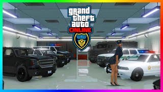 GTA 5 Online Cops N Crooks DLC Update - HUGE INFO! NEW Lobbies, Release Date, Police Cars & MORE!