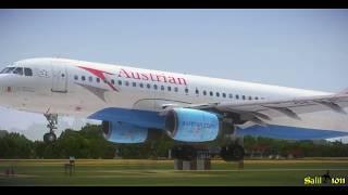 FSX Austrian Airlines A320 LOWI - LOWW