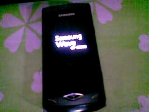 Samsung Wave S8500 Procedure restart !!