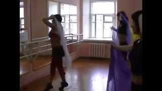 Постановка танца танца с платком(восточные танцы,обучение)