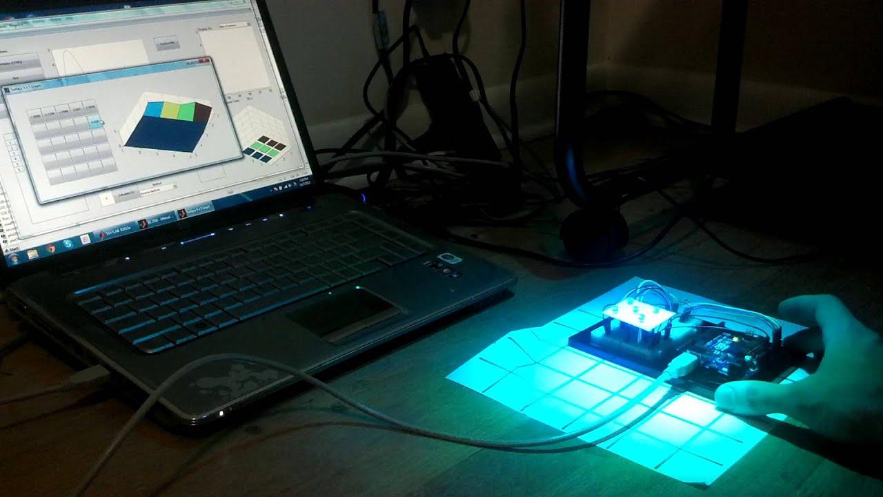 Arduino matlab light sensor real time plotting youtube