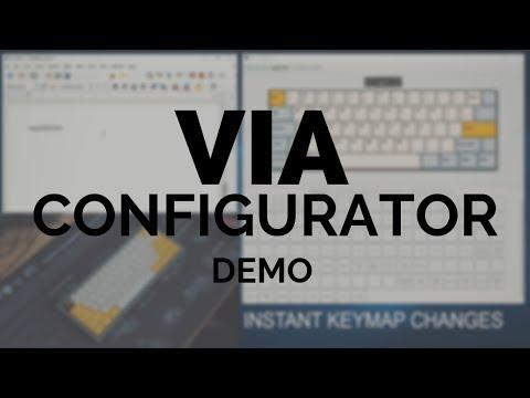VIA Configurator Demo (Version 0 2 7 Deviation) - YouTube