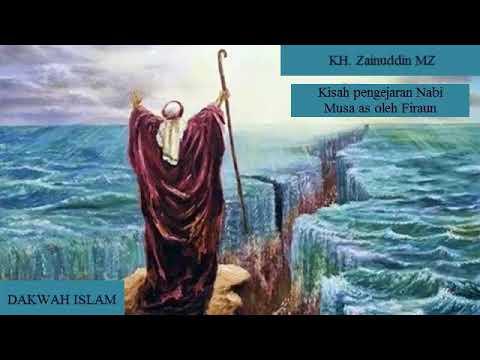 Ceramah LUCU!!! KH. Zainuddin MZ tentang kisah pengejaran Nabi Musa as oleh Firaun