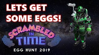 Trying To Get ALL Of The Eggs In Roblox Egg Hunt 2019!