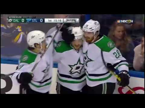 St. Louis Blues vs Dallas Stars. Conference Semifinals Playoffs NHL 2016
