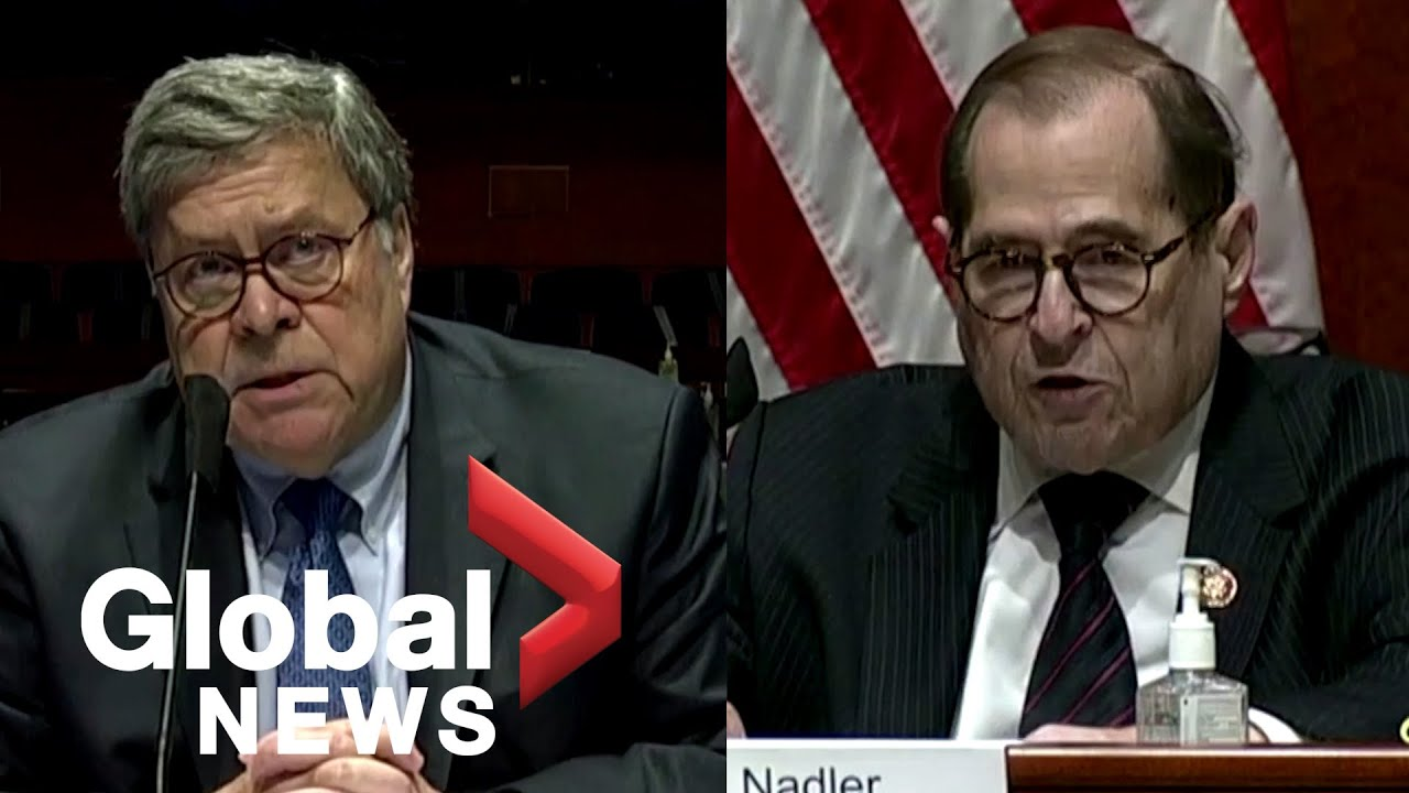 """Download Nadler blasts AG Barr during Congressional hearing, says he has """"abetted"""" Trump's """"worst failings"""""""