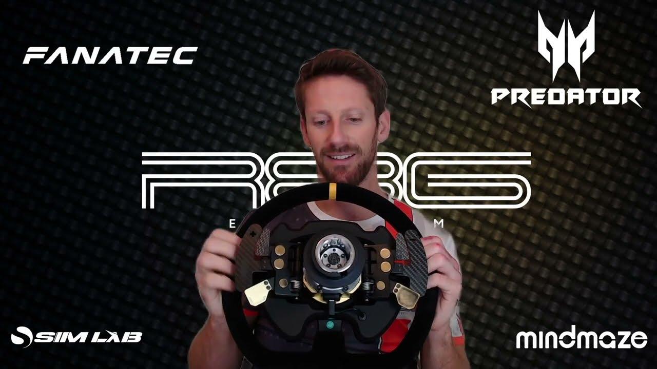 Romain Grosjean Best Fanatec settings