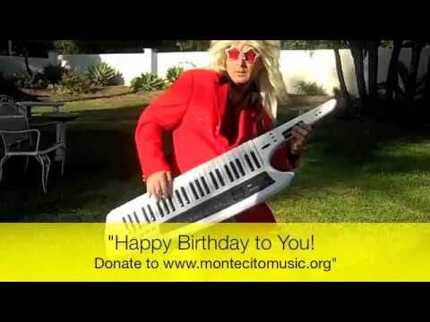 Rock N Roll Happy Birthday To You 1980s Style Birthday Song Youtube
