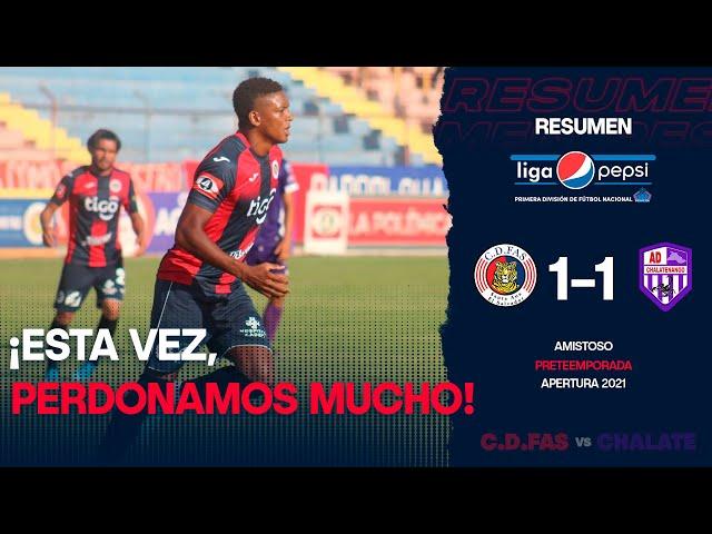 Perdonamos de más | FAS 1-1 Chalatenango | Pretemporada | Apertura 2021