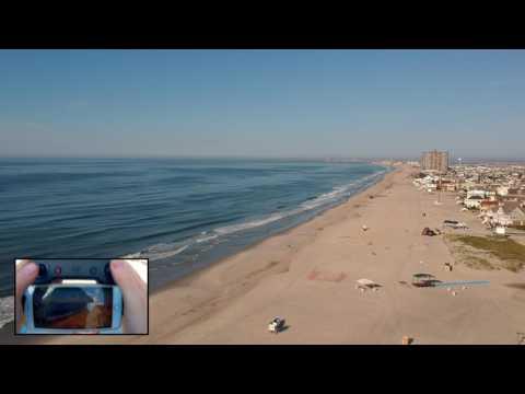 8b47d070ee DJI Spark Range Test At The Beach - YouTube