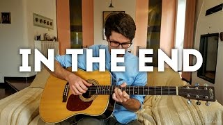 In the End - Linkin Park (INSTRUMENTAL fingerstyle guitar cover) [+ FREE TABs]