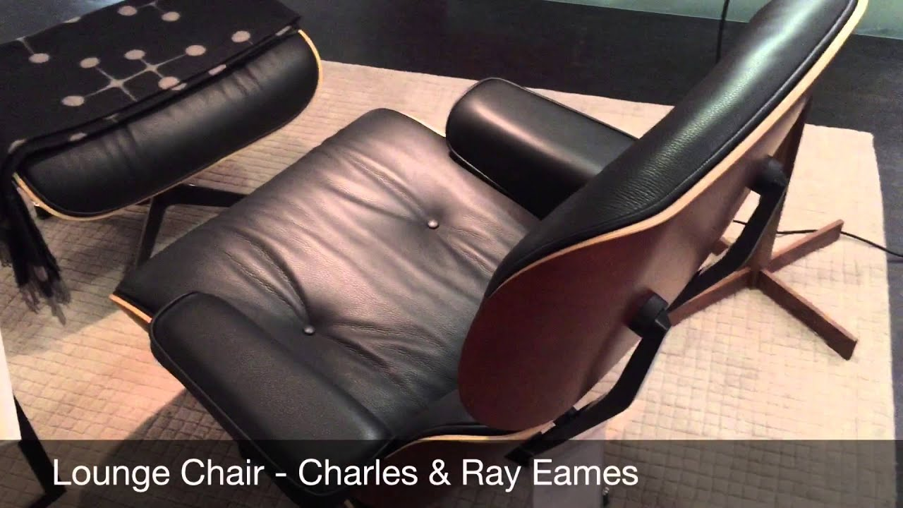 Eames Lounge Chair Vitra YouTube