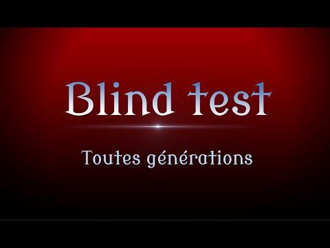 Blind Test Toutes Générations
