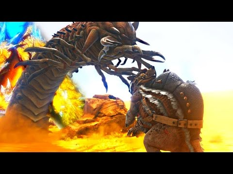 ARK Scorched Earth  DEATH WORM HUNTING, TEMPLE CAVE EXPLORATION & WYVERN ATTACK  Gameplay EP 4