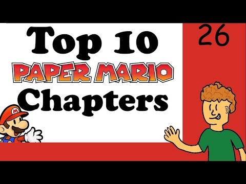 Top 10 Paper Mario Chapters