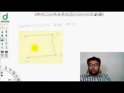CS101 - Discrete Mathematics - Connectivity, Path & Cycle (কানেক্টিভিটি, পাথ ও সাইকেল)