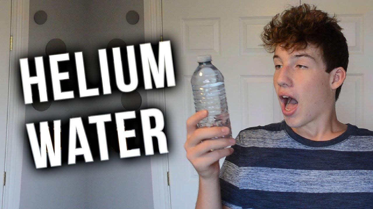 helium infused water