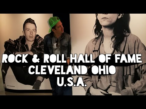 Inside Rock & Roll Hall Of Fame in Cleveland Ohio U.S.A.