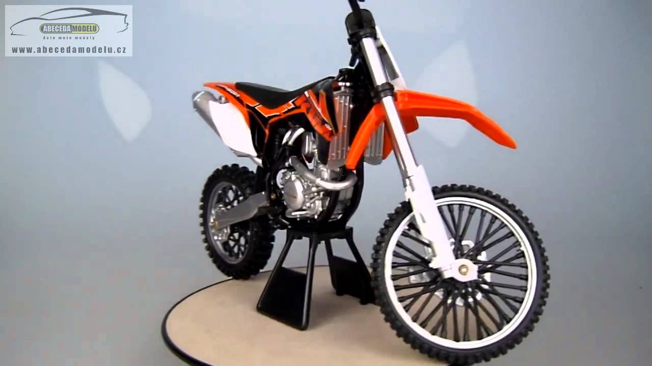 ktm 450 sx f dirt bike newray 1 6 youtube. Black Bedroom Furniture Sets. Home Design Ideas
