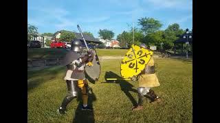 Vassilis vs Heinrich Bräuer - Sword and Shield  - 6/19/21
