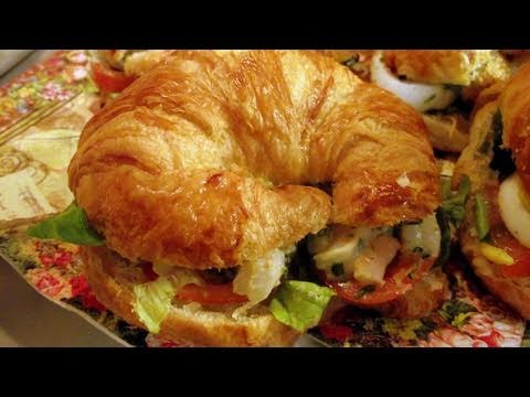 Croissant Sandwich Recipe - Best Sandwich Ever! - CookingWithAlia - Episode 129