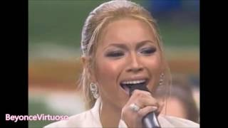 Beyonce Live Vocal Range (Bb2-F6)