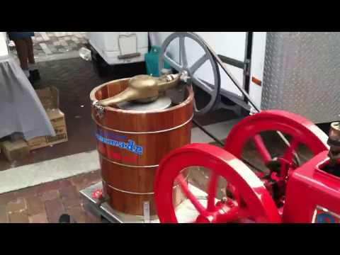 Gasoline Powered Ice Cream Maker