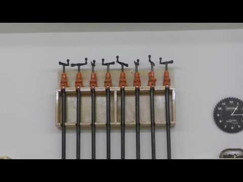 Building a Pair of Clamp Racks