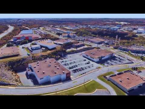 Halifax Bayer's Lake Power Centre aerial video