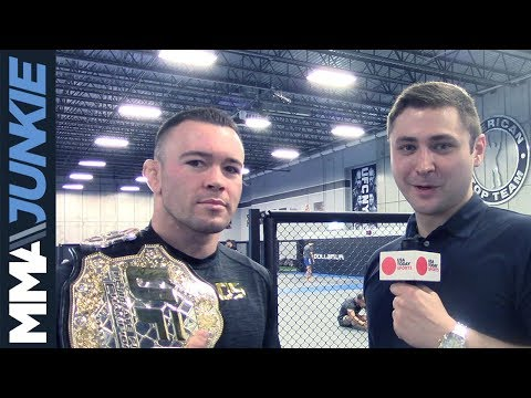 MMA Junkie's Mike Bohn interviews Colby Covington at American Top Team