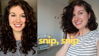 Short Curly Hair Chop | Instagram made me do it