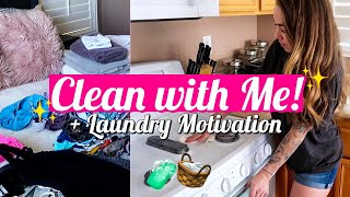 EXTREME CLEAN WITH ME 2019   MAJOR CLEANING MOTIVATION   LAUNDRY MOTIVATION