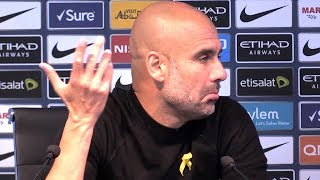 Manchester City 3-0 Fulham - Pep Guardiola Post Match Press Conference - Embargo Extras