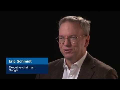 Disruptive technologies with Eric Schmidt: Biology goes digital