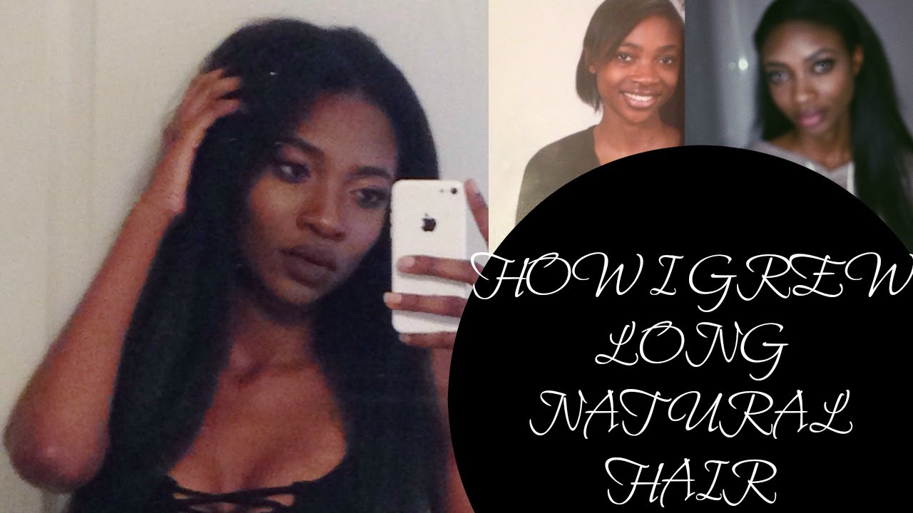 How to grow hair faster black female