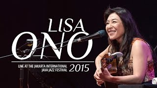 Lisa Ono Live at the Jakarta International Java Jazz Festival 2015,...