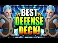 THE ULTIMATE DEFENSE DECK NEW META DECK OP Clash Royale Best Deck Arena 10 12 mp3
