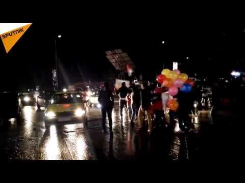 Aleppo Residents Celebrate City's Liberation