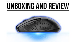 Blue Wave Sensor mouse || Tecknet m003 PRO Wireless mouse || UNBOXING AND REVIEW