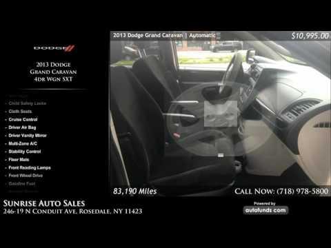 Used 2013 Dodge Grand Caravan | Sunrise Auto Sales, Rosedale, NY