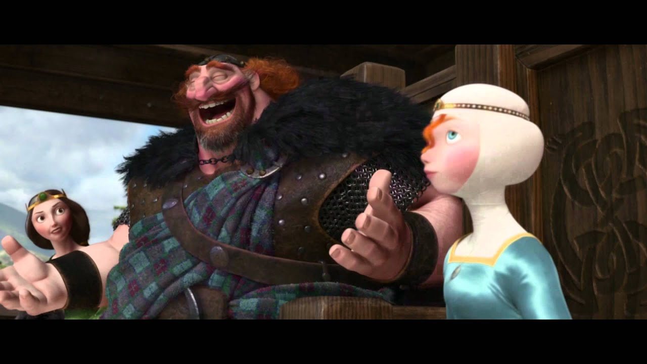 Merida Legende Der Highlands Trailer 2 Hd Youtube