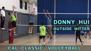 Donny Hui Volleyball Highlights - Cal Classic Tournament (11/10/18)