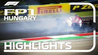 2018 Hungarian Grand Prix: FP1 Highlights