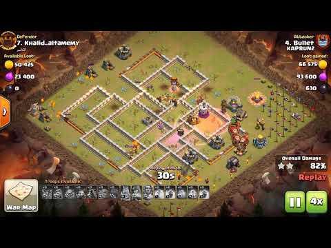 Electric Dragon, SpQ + Hogs, Miner   3 Stars War TH11   ClanVNN #669